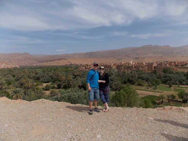 The journey through Morocco