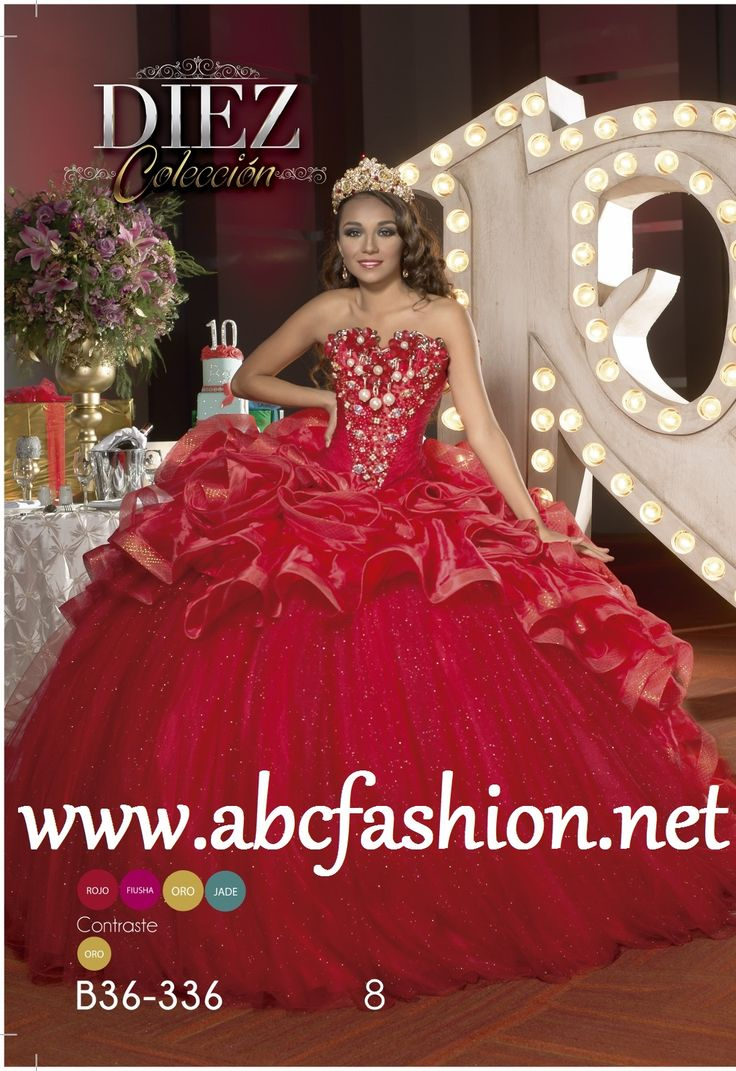 Ragazza xv dresses color