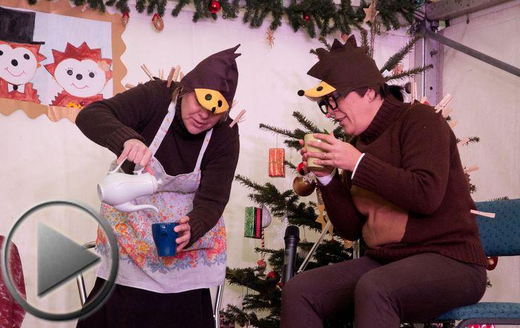 A budakeszi Pitypang Sport Óvoda óvónénijeninek karácsonyi meglepetés műsora.