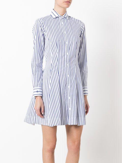 Polo Ralph Lauren полосатое платье-рубашка