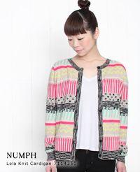 NUMPH [ニンフ] Lola ニットカーディガン FuchsiaPurple(フクシアパープル) 7114250