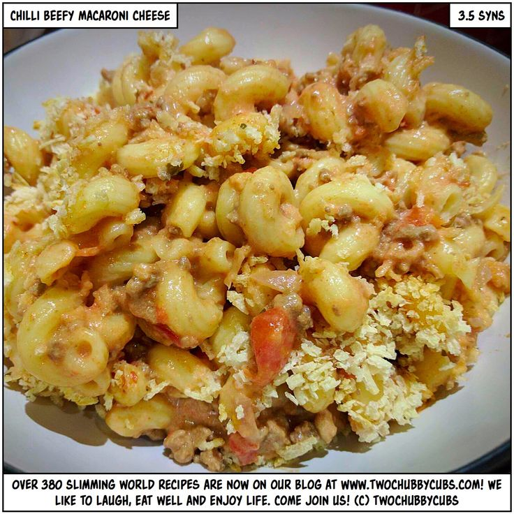 chilli beefy macaroni cheese