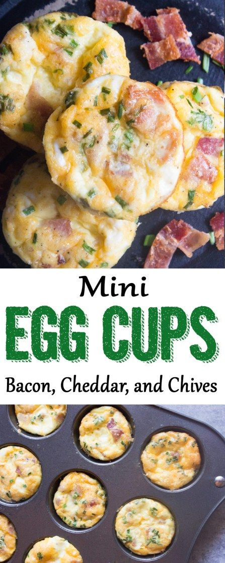 Mini Egg Cups, Breakfast egg cups, egg muffins, muffin tin eggs, wright brand bacon, publix, easy breakfast, #publix #bacon #breakfast #easybreakfast #ad