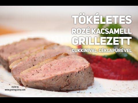 Tökéletes rozé kacsamell céklapürével, grillezett zöldségekkel - GastroGranny a tudatosan táplálkozók lapja
