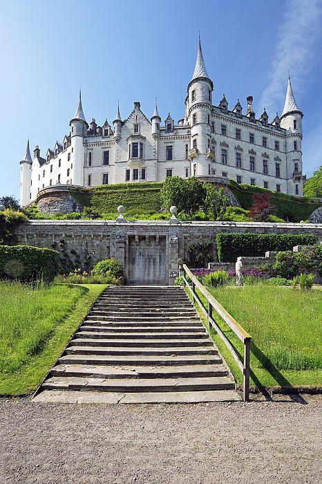 (Dunrobin Castle by Grant Glendinning) Westwood Castle