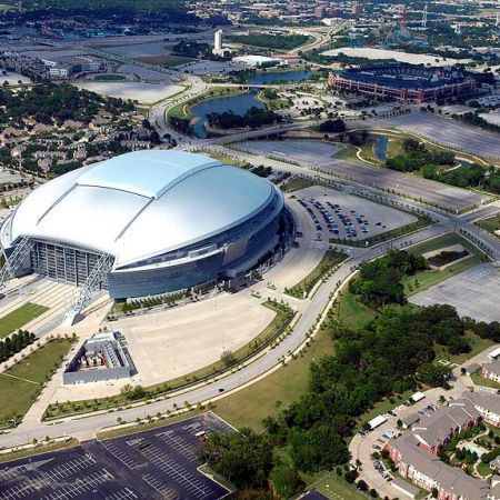 Dallas Cowboy S Stadium Arlington Texas Ballpark In Six Flags Over Where I Will Be Seeing George Strait
