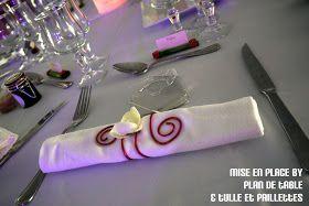 Plan de Table - Le Blog: Mariage en rouge et blanc, mise en place de la décoration by Plan de Table & Tulle et Paillettes, Côté Jardin, la Bouilladisse