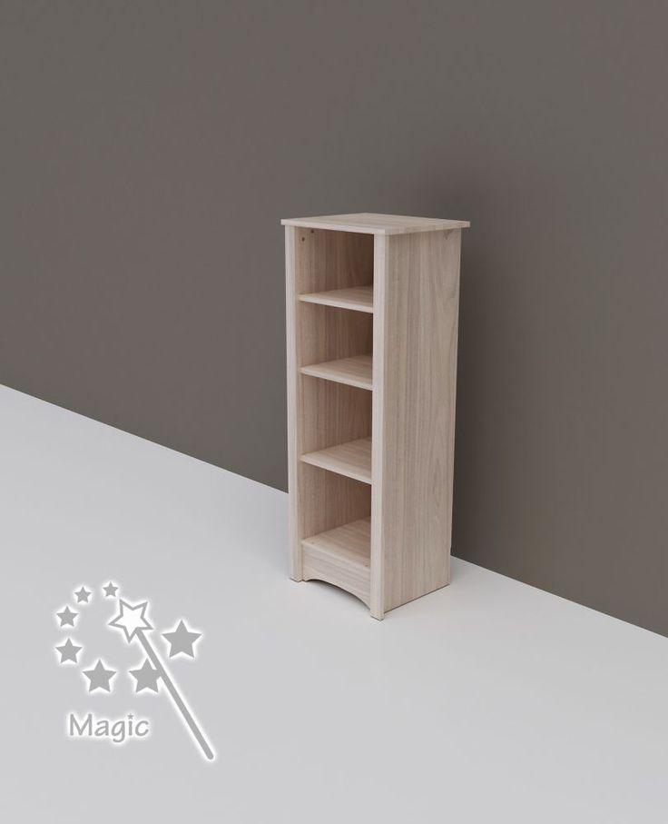 Todi Magic keskeny nyitott polcos szekrény, Todi Magic keskeny nyitott polcos szekrény, Zsebi Babaáruház