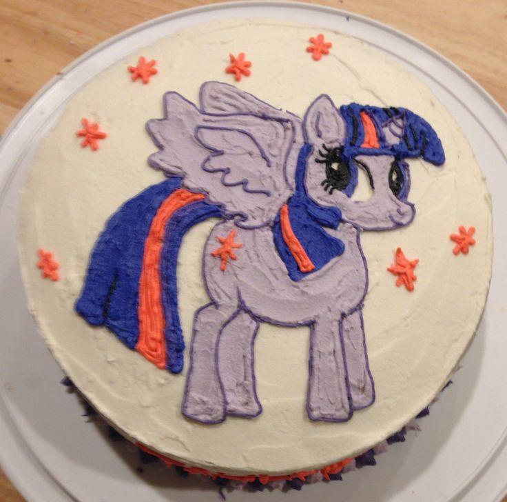 Princess twilight sparkle cake
