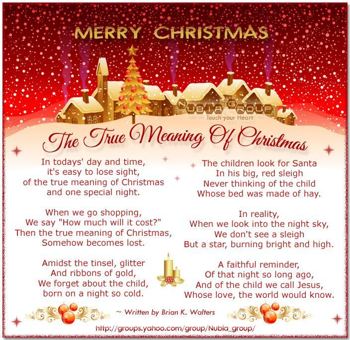 Christian Christmas Poems | however I'm behind and rushed for a few presents under the tree!