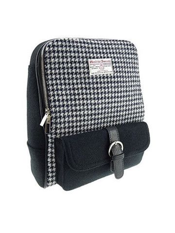 Harris Tweed Backpack, $149.95