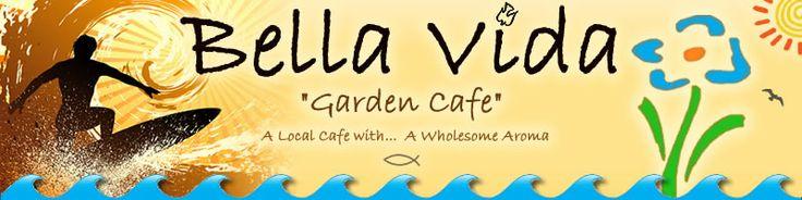 Bella Vida Garden Cafe - West Cape May, NJ - Healthy and delicious!