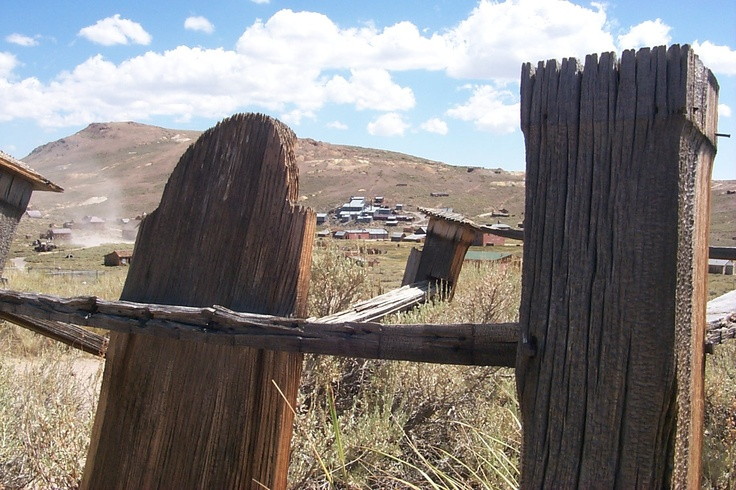 Bodie, California - The historic California ghost mining town can be toured on Museum Planet's iPad app.