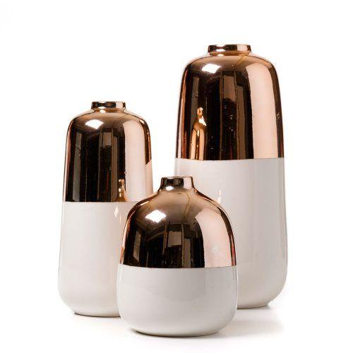 Good Home Decor Mercer + Reid Margot Vase, Copper Vase, Vase