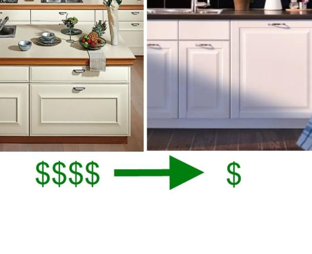 Snaidero Cabinets Cost Too Much. Here Are Your IKEA Equivalents.: European Kitchen Cabinets - White Traditional