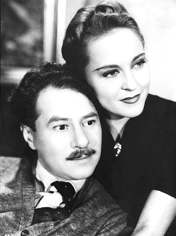 Život je krásný, 1940 (režie Ladislav Brom)  Ladislav Pešek a Zita Kabátová