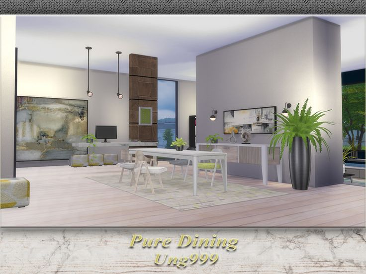 A Modern Dining Room Set Contains 15 Items For Both Short And Medium Wall  Decorating As