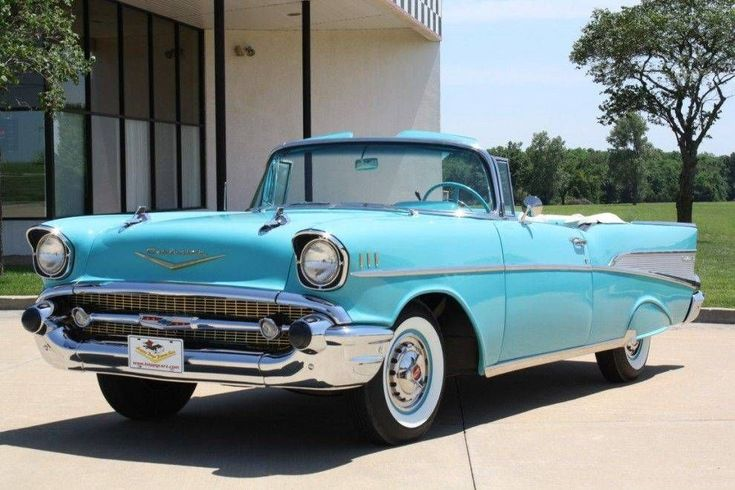 1957 Chevrolet Bel Air Convertible: 11 of 50 #CarInsurance&Cars