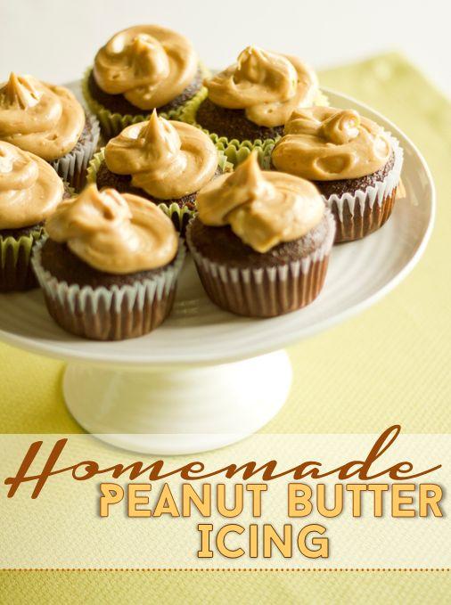 Little Wifey Lifey : Homemade Peanut Butter Icing