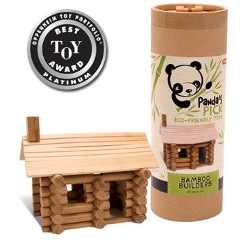 Panda's Pick Bamboo Builders - Schylling  A great eco friendly toy