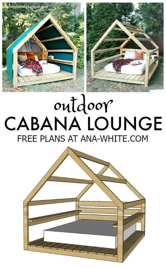 DIY cabane lounge
