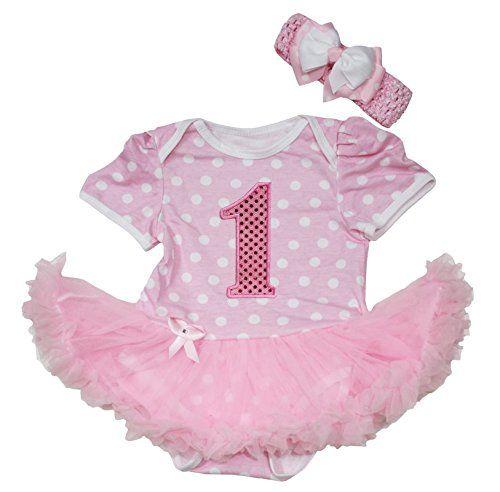 Birthday 1st Pink White Polka Dots Bodysuit Tutu Baby Dre... https://www.amazon.com/dp/B010A6NGFE/ref=cm_sw_r_pi_dp_x_ZOahyb3XQ6EVV