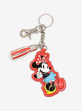 Disney Minnie Mouse Tassel Key Chain,