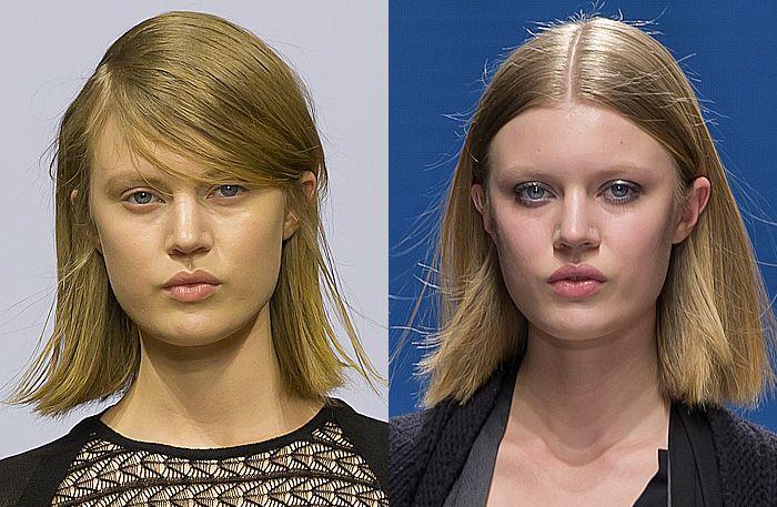 Frisyr trend mellanlångt hår