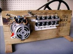 DIY Video : How to build a Simple Survival Emergency Generator using a salvaged Dishwasher Motor