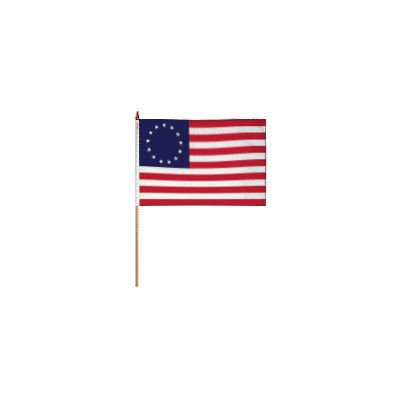 FlagsImporter Betsy Ross Traditional Flag and Flagpole Set
