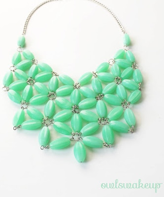DIY J.Crew Necklace.
