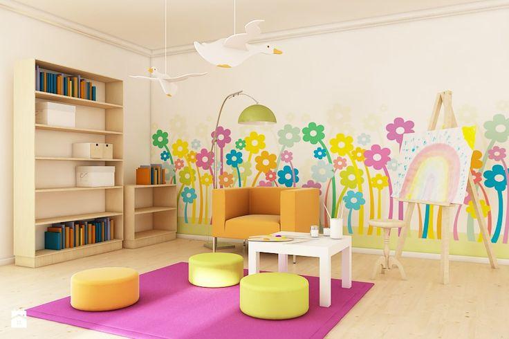 Kwiaty w pokoju Dziecka - Pokój dziecka - Styl Nowoczesny - deKEA Polska