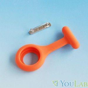 Housse pour montre infirmière orange (hypoallergénique)