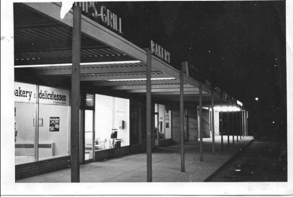 """The Plaza"" at Brimorton and Orton Park, Scarborough Ontario 1960"