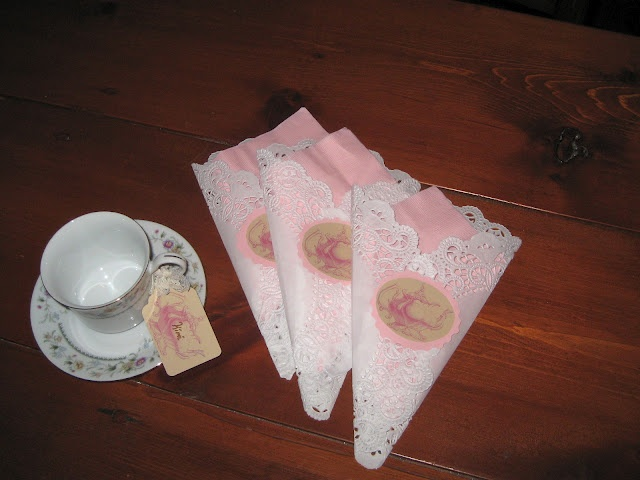 Feng Shui Taza Del Baño:Tea Party Napkin Ideas