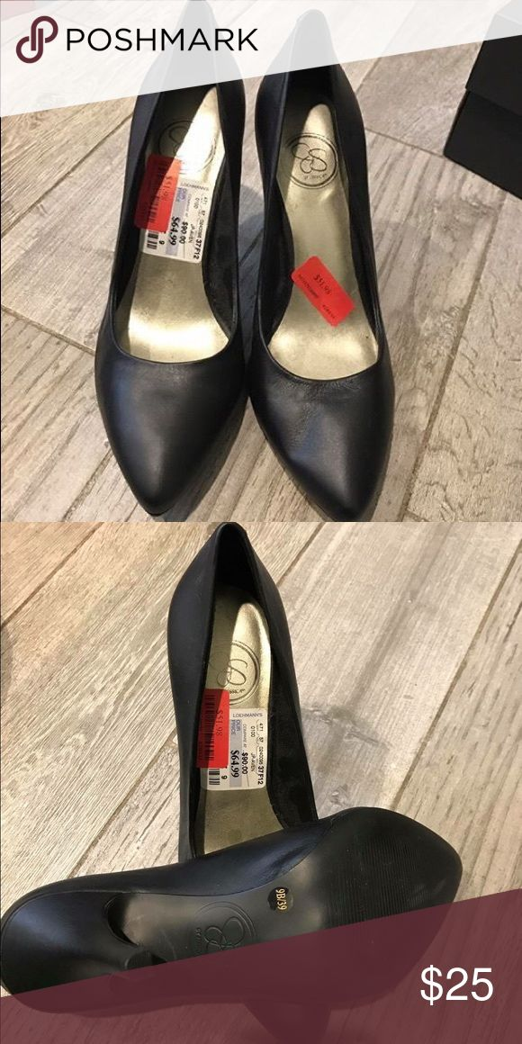 Jessica Simpson Pumps Brand new with tags Jessica Simpson Black Pumps size 9 Jessica Simpson Shoes Heels