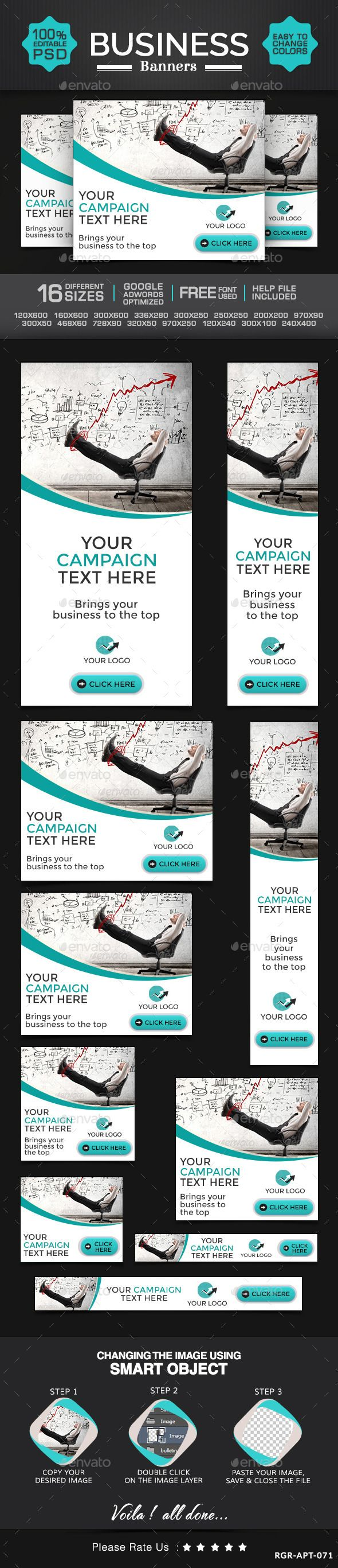 Business & Marketing Banners Template PSD   Buy and Download: http://graphicriver.net/item/business-marketing-banners/8987947?WT.ac=category_thumb&WT.z_author=BannerDesignCo&ref=ksioks