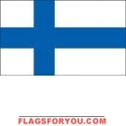 5' x 8' Finland High Wind, US Made Flag