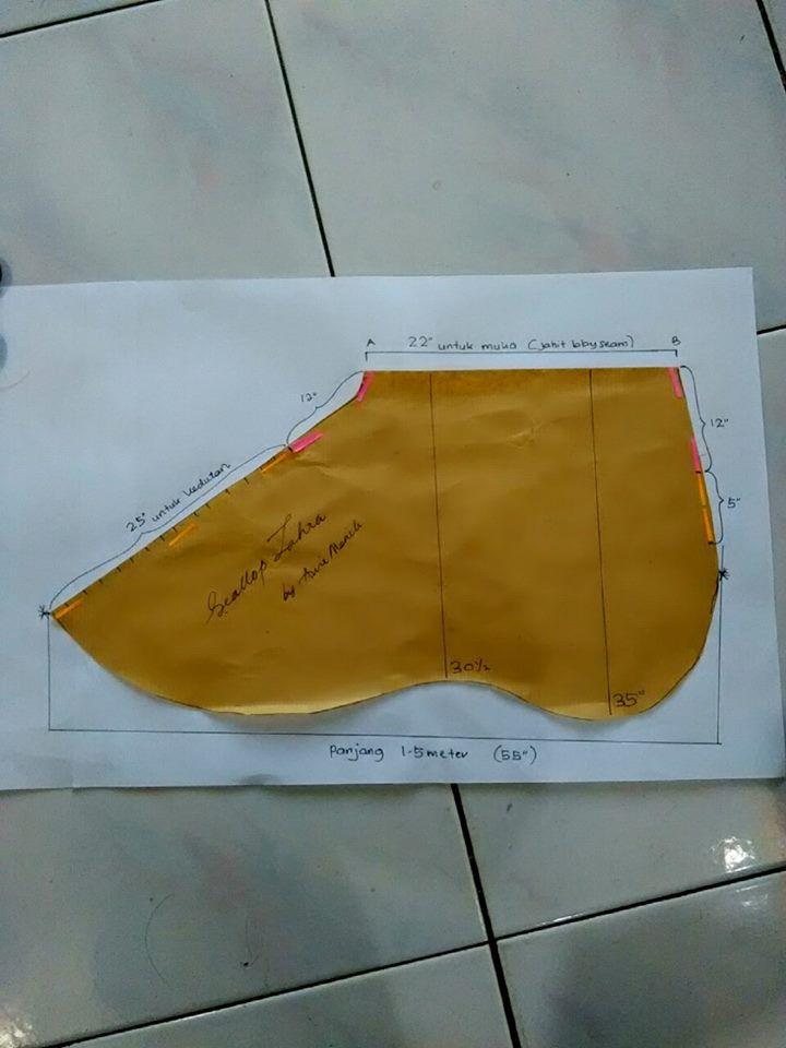 instant shawl (SCALOP)..awie manik -1