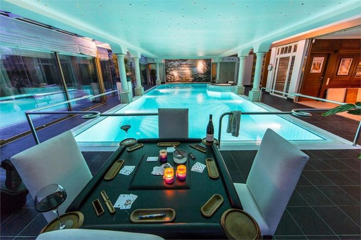32 best z w e m b a d e n images on pinterest indoor for Swimming pool poker
