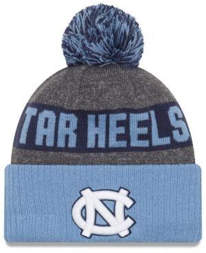New Era North Carolina Tar Heels Sport Knit Hat - Gray Adjustable