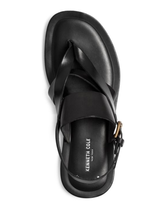 991cc595c1d2 Kenneth Cole Men s Reel-Ist Leather Thong Sandals