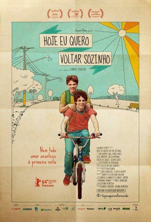 Hoje Eu Quero Voltar Sozinho Movie Poster