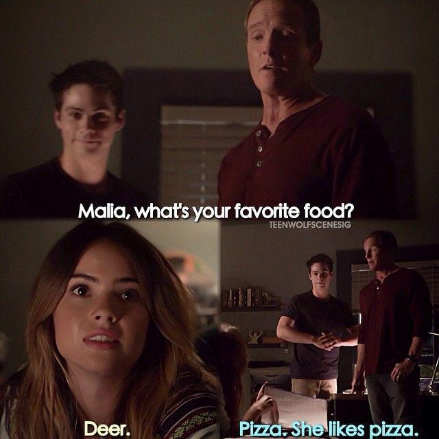 "S4 Ep11 ""A Promise to the Dead"" - Malia, Stiles and his dad"