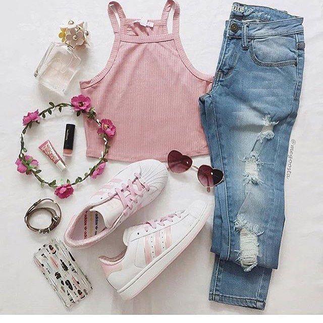 #Outfit del día  #moda_ytendencias#flatlay #flatlayapp #flatlays www.theflatlay.com