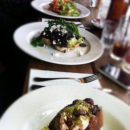 Porgie + Mr Jones - Hawthorn, Melbourne Breakfast Smashed Avocado