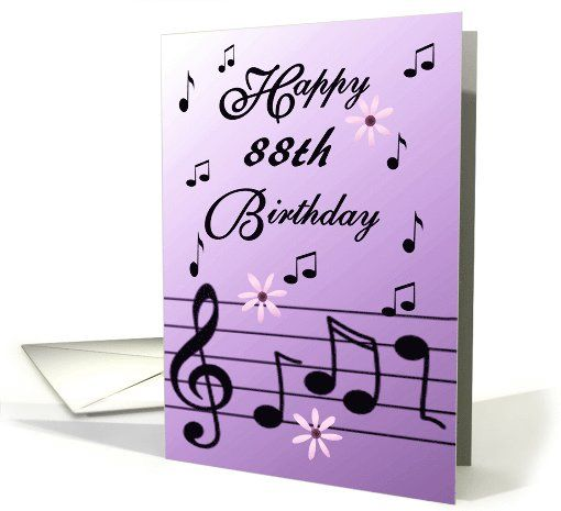 88th Birthday Cards