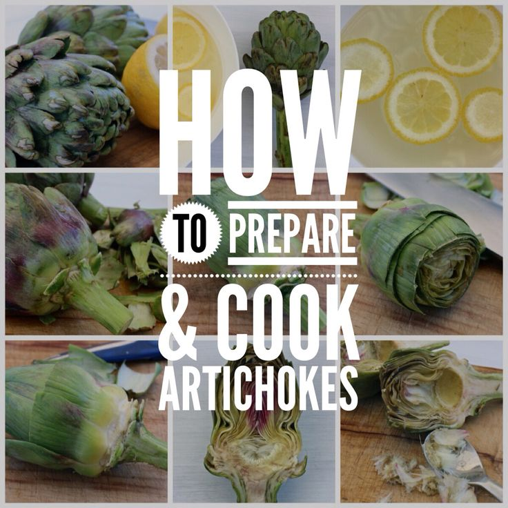 How to prepare & cook artichokes. A delicious homemade marinated artichoke recipe on the blog now http://foodiesagenda.com/marinated-artichokes/