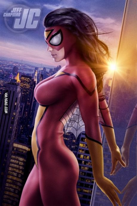 Why not have spider-woman?