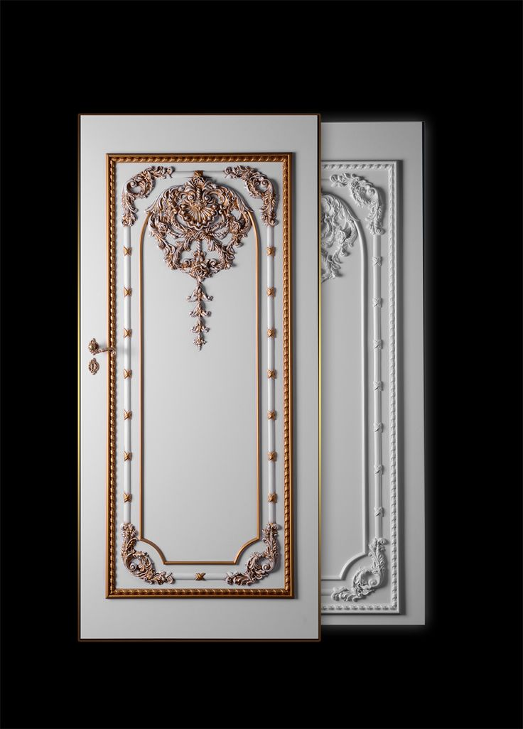 DRZWI BAROCO JOSEFIN. Drzwi mogą być pokryte lakierami kryjącymi, na wysoki połysk jak i z elementami patynowanymi jak i pozłacanymi i posrebrzanymi.
